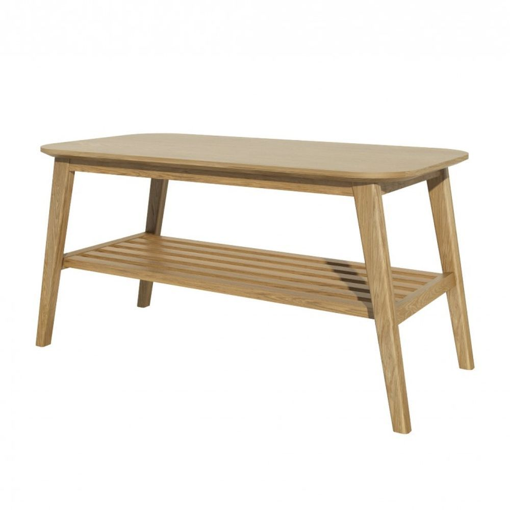 Scandic Solid Oak Medium Coffee Table Best Price In 2020 Coffee Table With Shelf Solid Oak Furniture Oak Coffee Table [ 1000 x 1000 Pixel ]