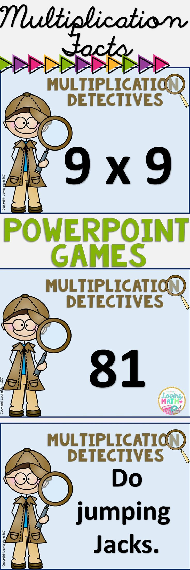 Multiplication Facts PowerPoint Games and Quizzes   Multiplication ...
