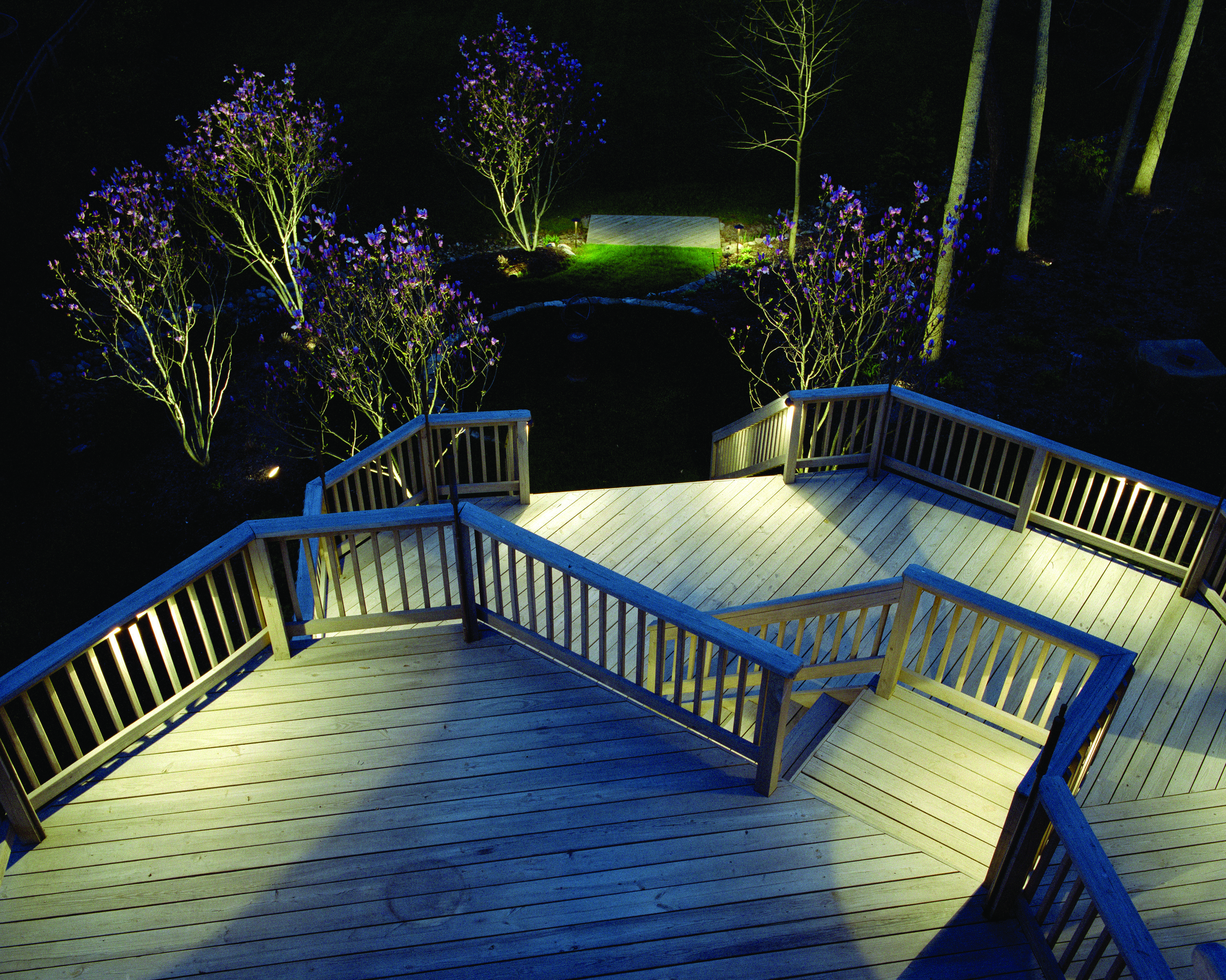 Ideas For A Dark Deck Decking Deck Lighting And Rope