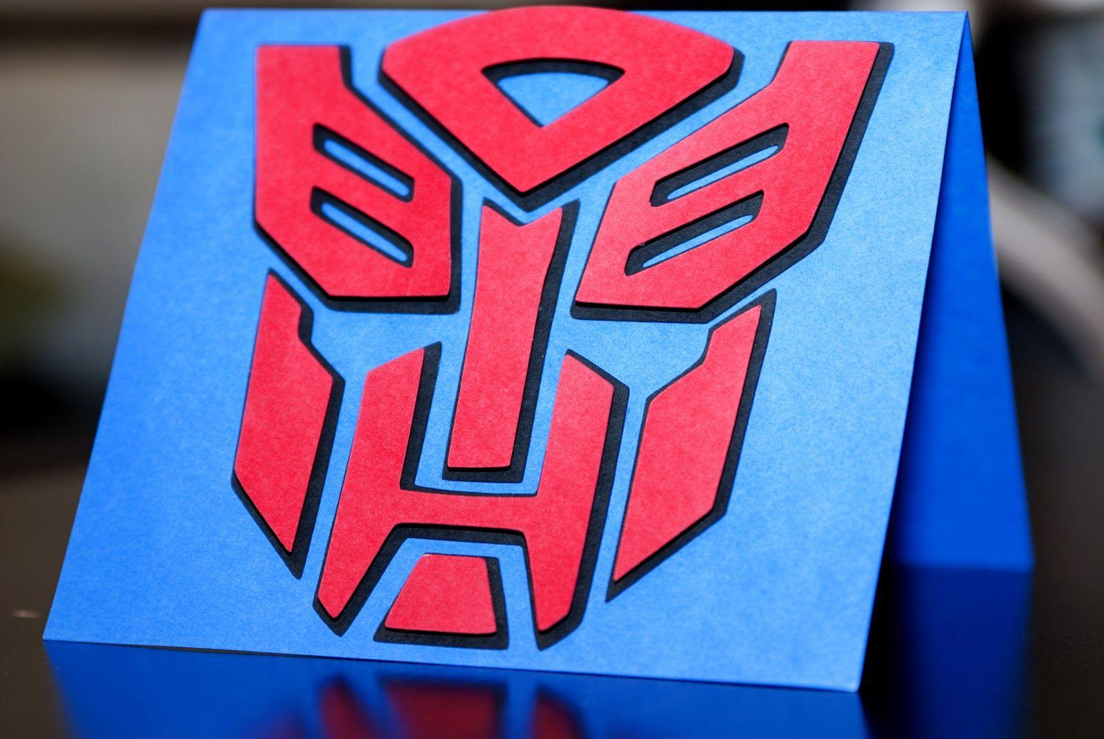Transformers Birthday Invitations Once Upon A Studio Transformer Invite I Made Using Mtc Transformer Birthday Rescue Bots Birthday Pokemon Birthday Card