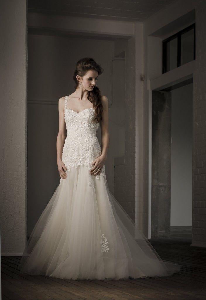 floor length ivory tulle bridesmaid dress uk