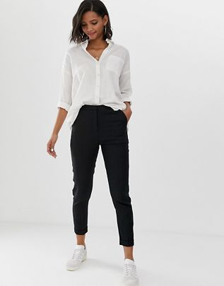 Photo of Work trousers for women | Slim & Skinny work trousers | ASOS
