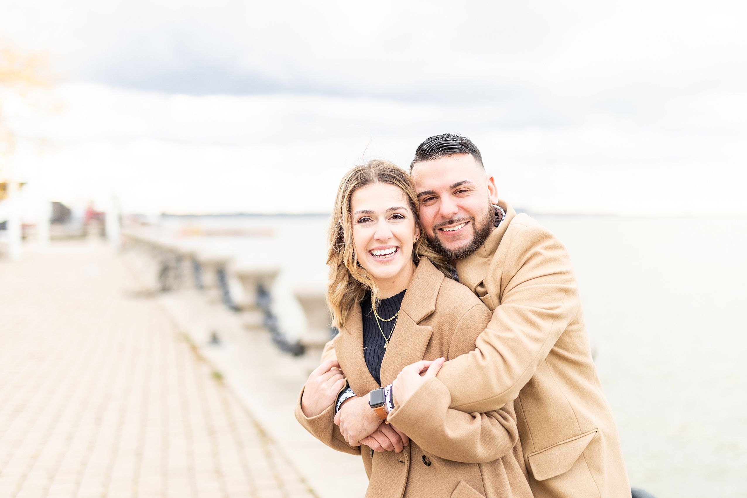 Rachel & Anthony's Engagement Session #rockandrolloutfits
