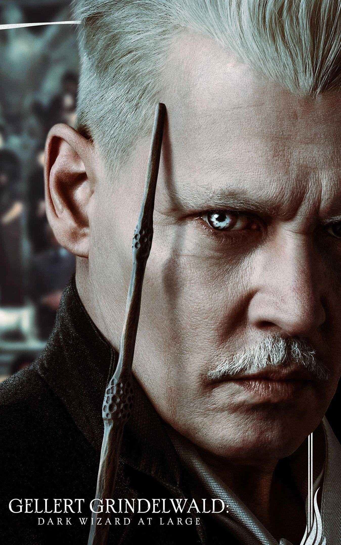 Wizards Unite Characters Gellert Grindelwald Johnny Depp