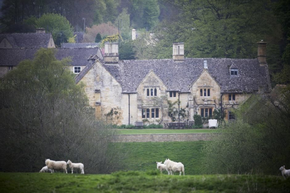 """Jinny Blom's gardens at Temple Guiting, a 15th-century manor in Gloucestershire, England, won her a Pinnacle Award, with dry-stone walls that divide the 14-acre site into 18 """"rooms,"""" each with a distinct style and story to tell.  How absolutely beautiful!"""