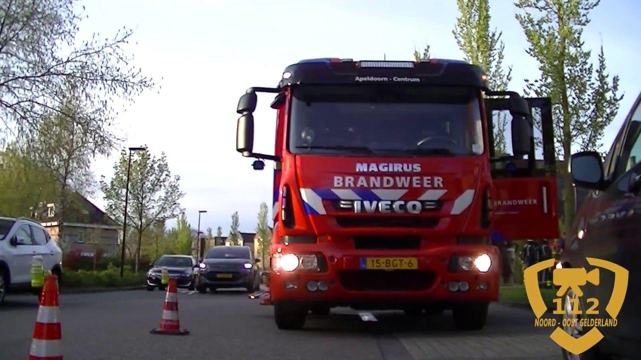 11-04-2017 Woningbrand aan de Balustrade in Apeldoorn middelbrand