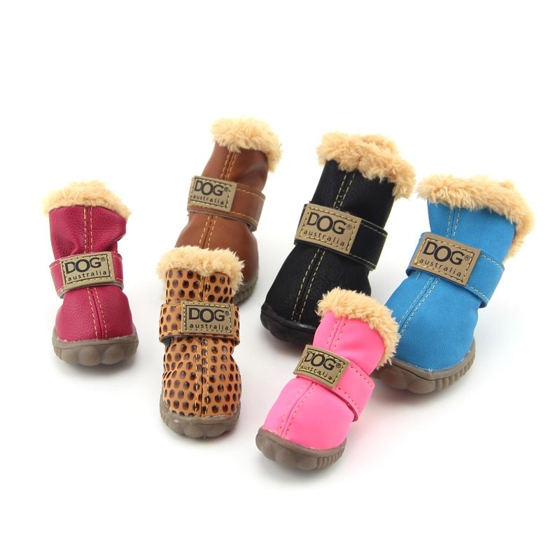 Working Dogs Winter Snow Boots Casual Dog Shoes Pet Shoes For