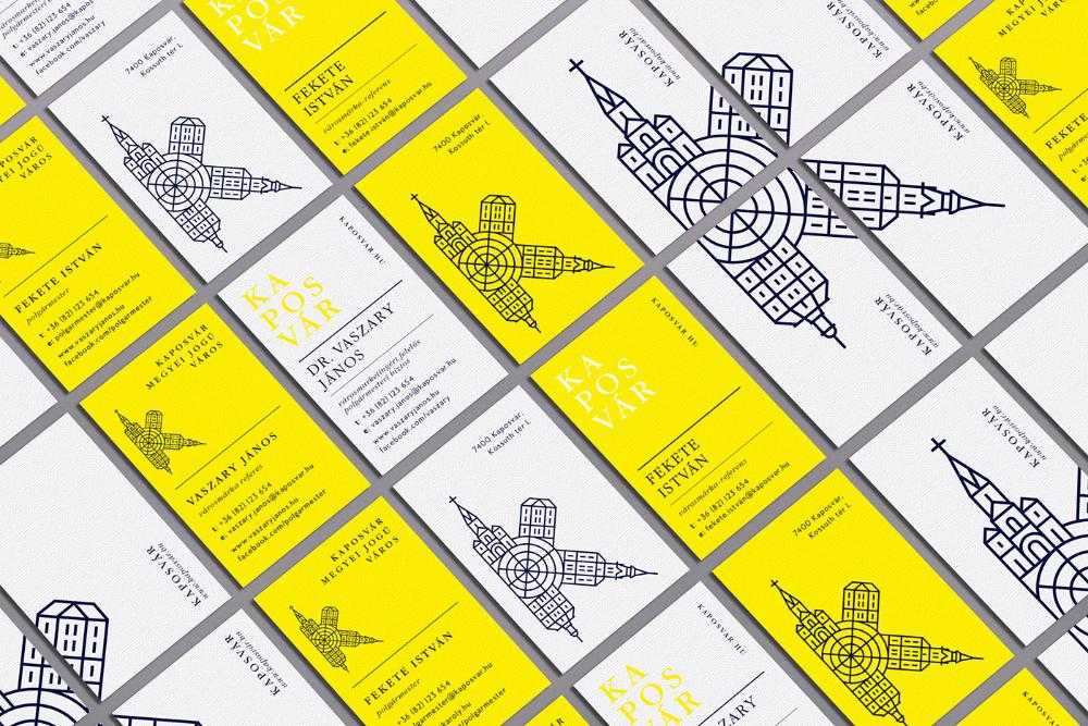 Kaposvar City Branding 2016 2019 On Behance City Branding
