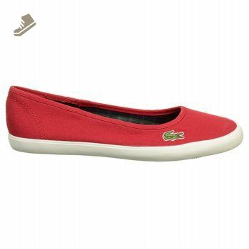 Lacoste Marthe IVY SPW CNV 728SPW1036DR2 Womens Fashion Shoes Casual  Ballet Flats 5 B