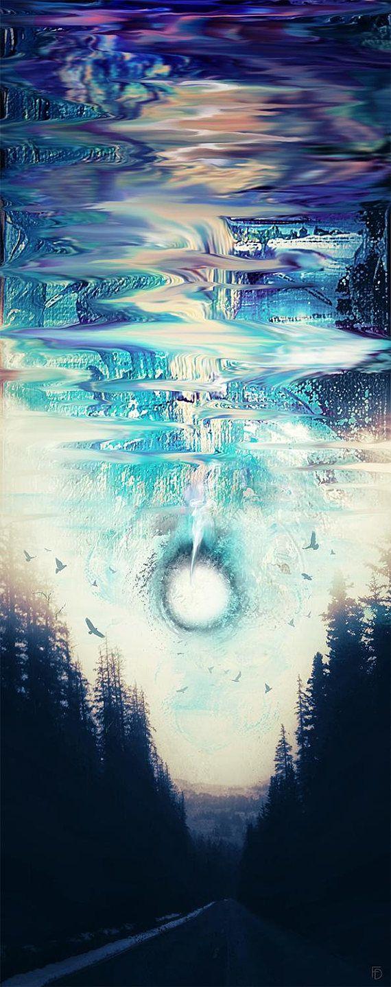 Abstract Sky Art Abstract Space Art Night Sky Sci Fi Art