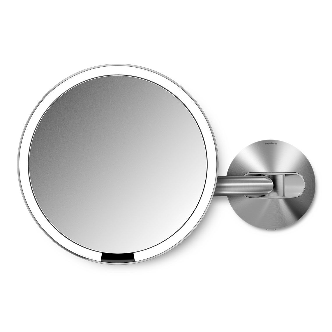 Hard Wired Wall Mount Sensor Mirror In 2020 Makeup Mirror With Lights Simplehuman Shaving Mirror