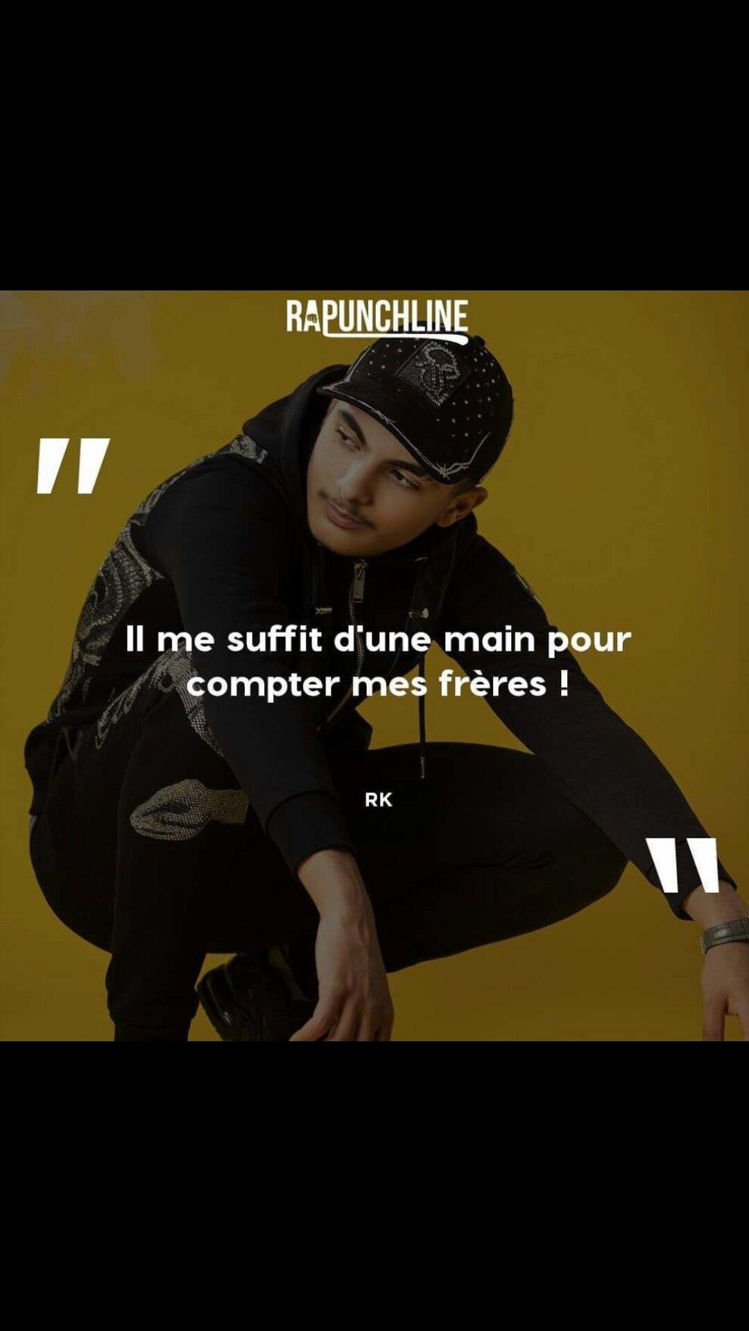 Épinglé par Amira sur Rk ❤️♂️ | Citations de rap, Rap