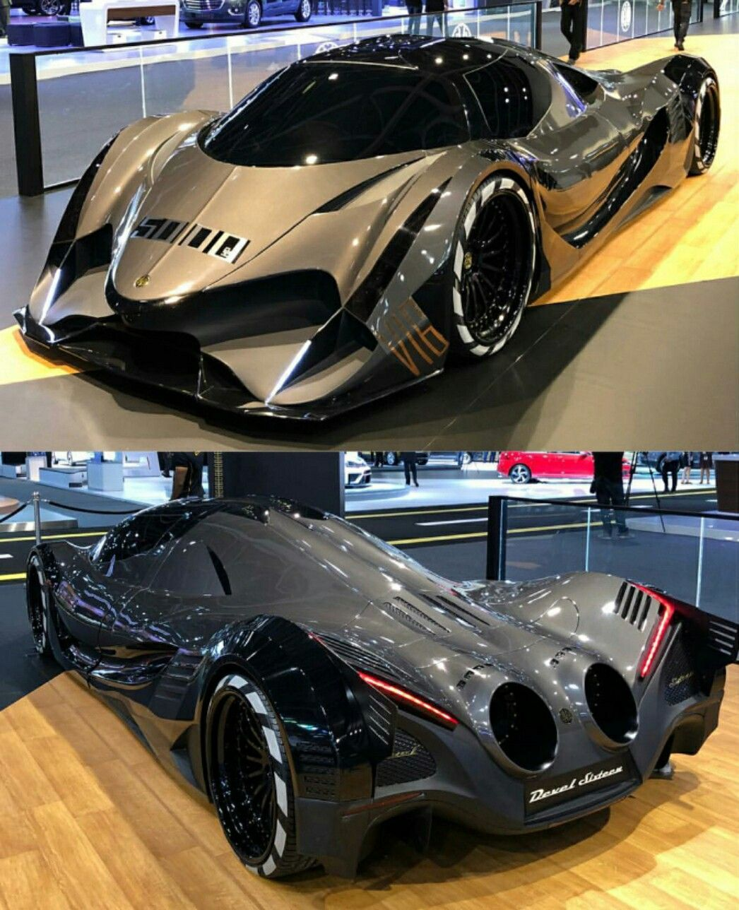 Best Supercars 2017: Devel Sixteen... 12.3Ltr V16 Quad Turbo 5,000HP @ The