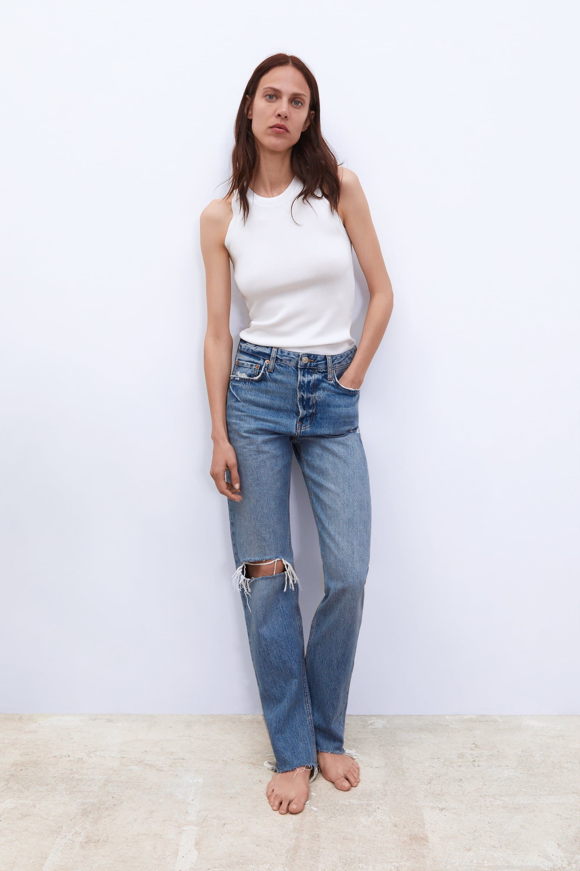 8f4c6a67d Sunrise blue zw premium real straight jeans in 2019 | I want to wear ...