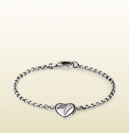 5a862d29400 flora heart pendant bracelet in sterling silver