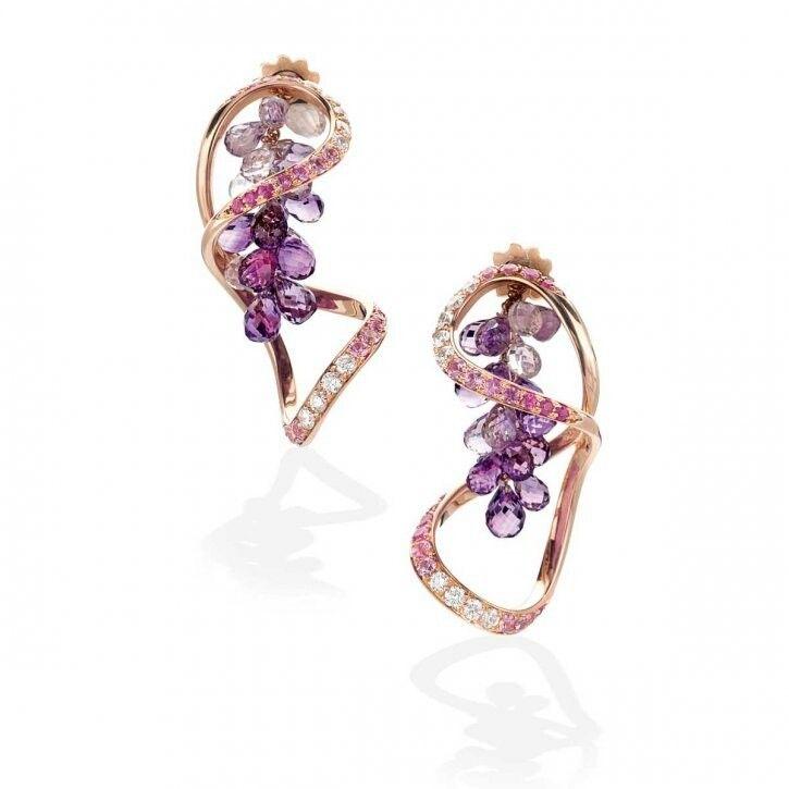 IoSi Amethyst Earrings