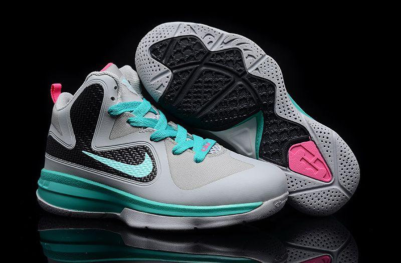 84f70ecf74b6 Lebron 9 Kids Miami Vice South Beach Nike Kids Shoes