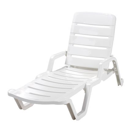 Adams resin chaise lounge at ace hardware outdoor living for Chaise longue resine
