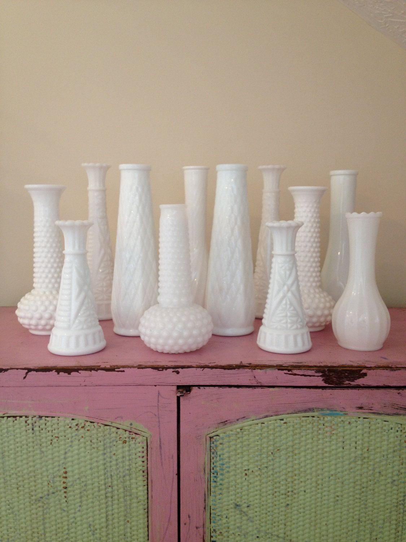 Vintage white milk glass vases i have a beautiful one from an vintage white milk glass vases i have a beautiful one from an antique shop in floridaeventfo Choice Image