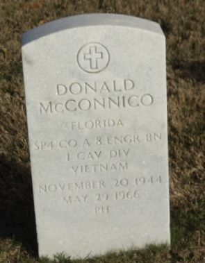 Steve Wightman ‏@stevewightman1 30m30 minutes ago  Honoring #USArmy SP4 Donald McConnico, died 5/29/1966 in South Vietnam. Honor him so he is not forgotten.   (410) Twitter