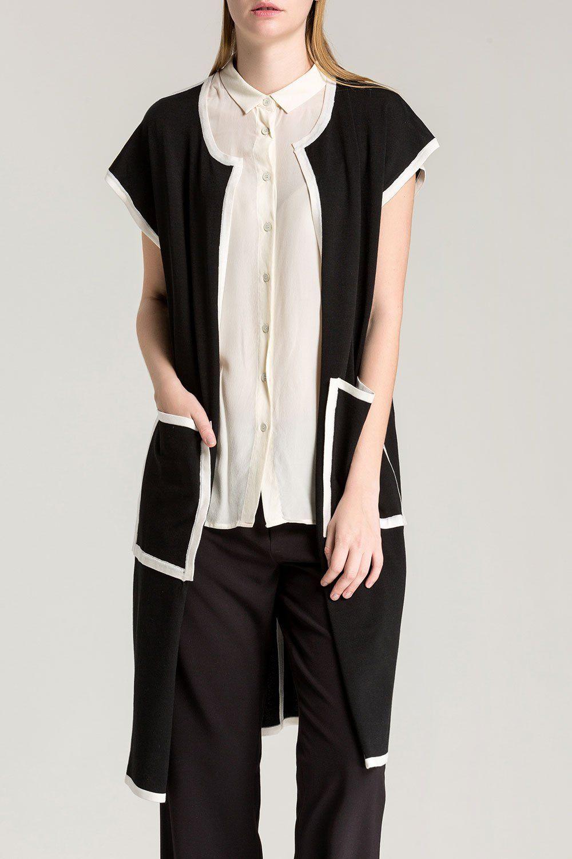 Short Sleeve Long Cardigan | Long cardigan, Short sleeves and Shorts