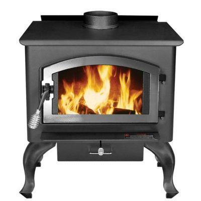United States Stove Wood Stove With Blower Large Epa Certified With Images Wood Stove Wood