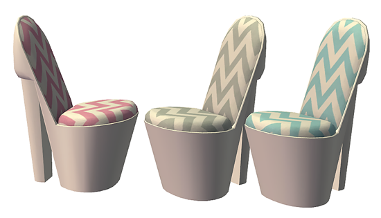 High Heel Shoe Chair Hell Has Spoken The Sims 2