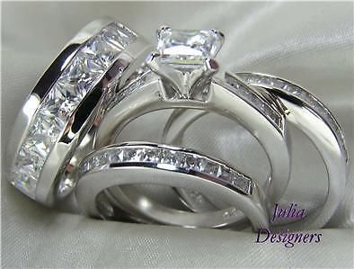 Other Wedding and Anniv Bands 92866 His Hers Engagement Wedding