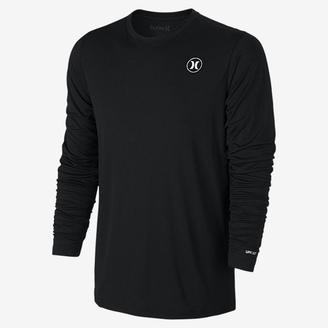 Hurley Dri-FIT Icon Long-Sleeve Men's Surf Shirt. Nike.com