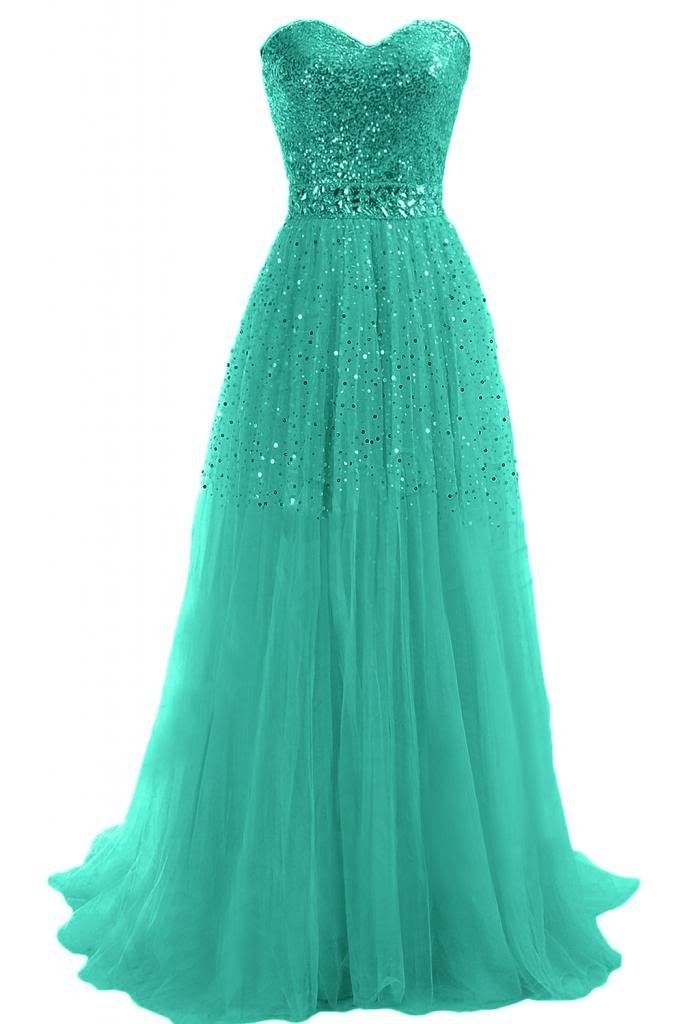 675658b8e5b9 Sunvary Woman A-line Strapless Sweetheart Sequins Tulle Holiday Evening  Dresses  Amazon.co.uk  Clothing