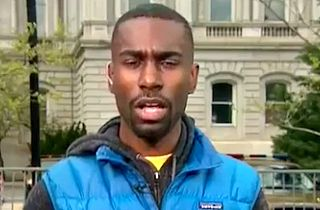 Ferguson Activist Battles CNN's Blitzer: 'No Excuse' for Police Violence, Either
