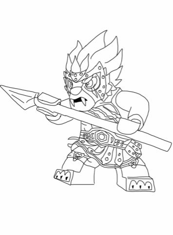 More Lego Legend of Chima Coloring Pages | T board | Pinterest
