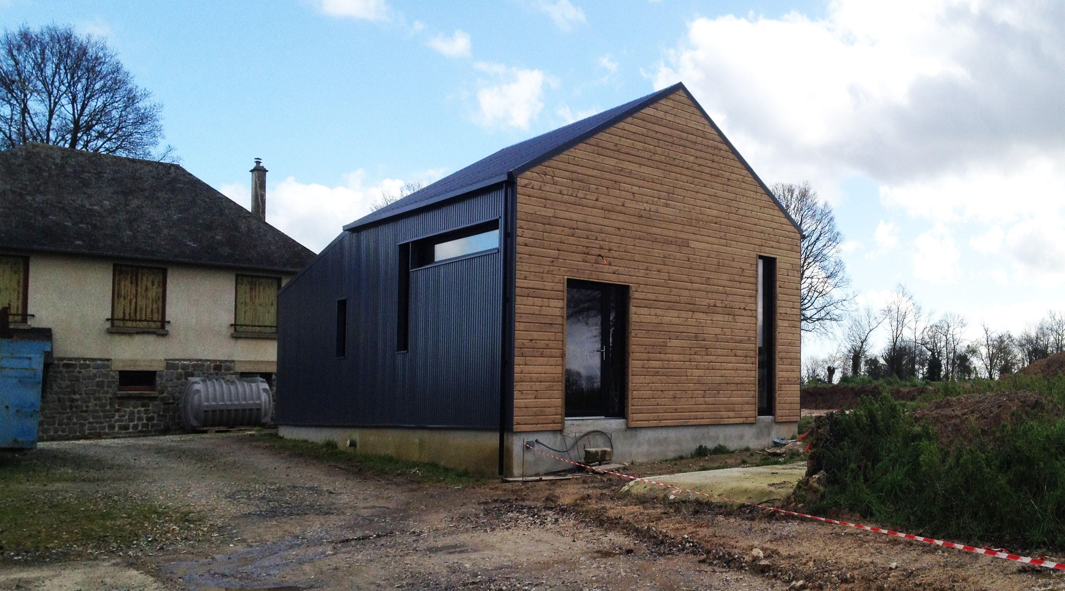 projet m bardage pinterest architecture bois maison. Black Bedroom Furniture Sets. Home Design Ideas