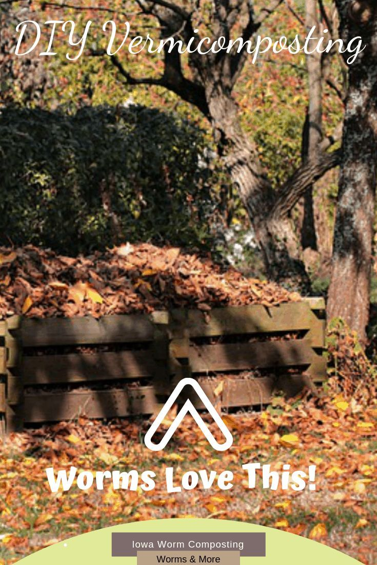 Diy made easy iowa worm composting