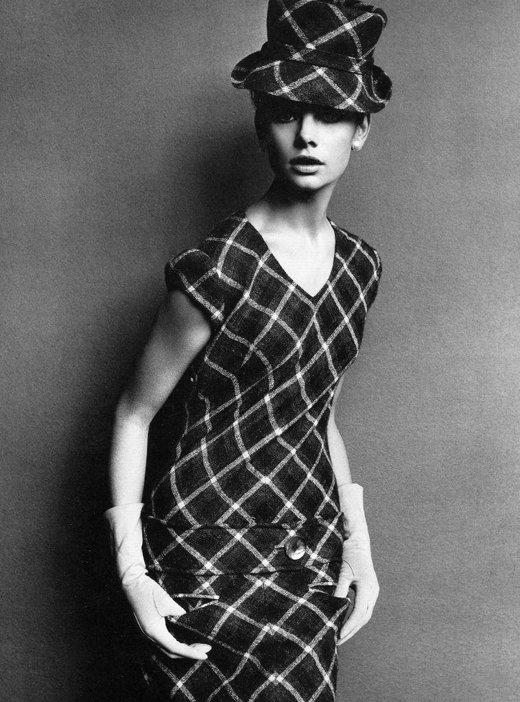 Jean Shrimpton, photo by John French, 1963