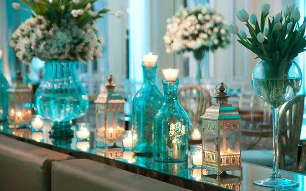 0bd893485387b Casamento azul tiffany com dourado