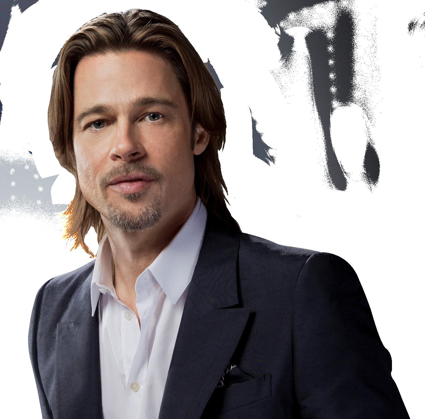 Brad Pitt Png Image Brad Pitt American Actors Brad