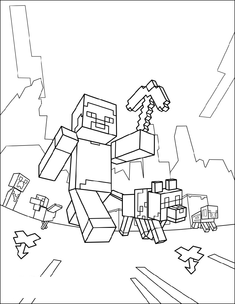 Minecraft Printable Coloring Pages K5 Worksheets Minecraft Coloring Pages Minecraft Printables Printable Coloring Pages