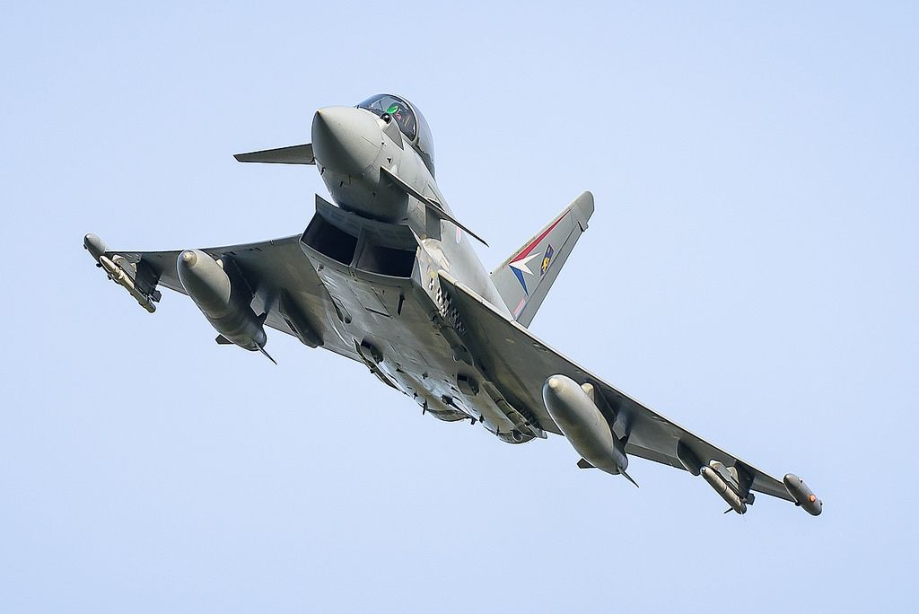 Eurofighter Typhoon ZJ938 IPA6. BAE Systems, Warton Aerodrome