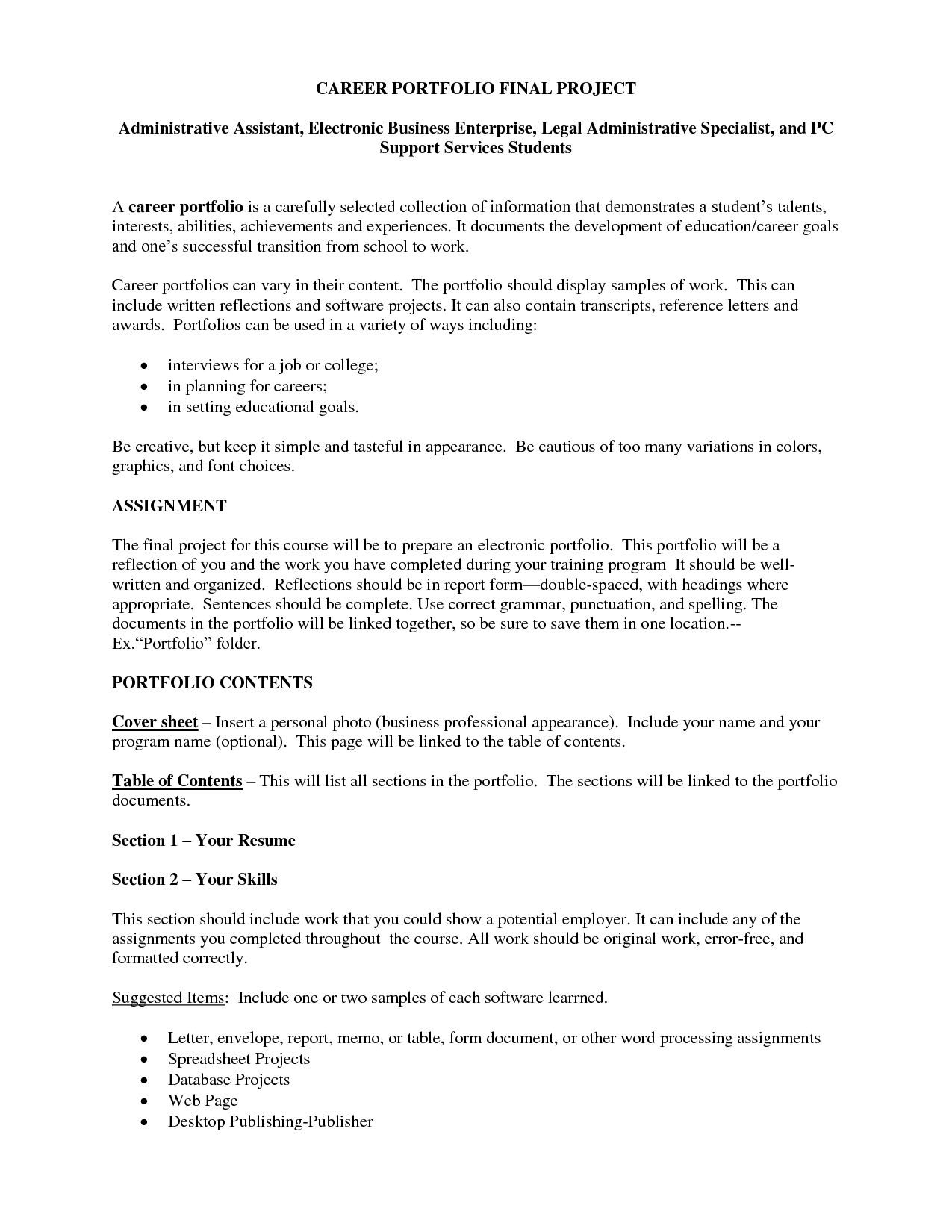 Resume Template For Administrative Assistant Sample Cover