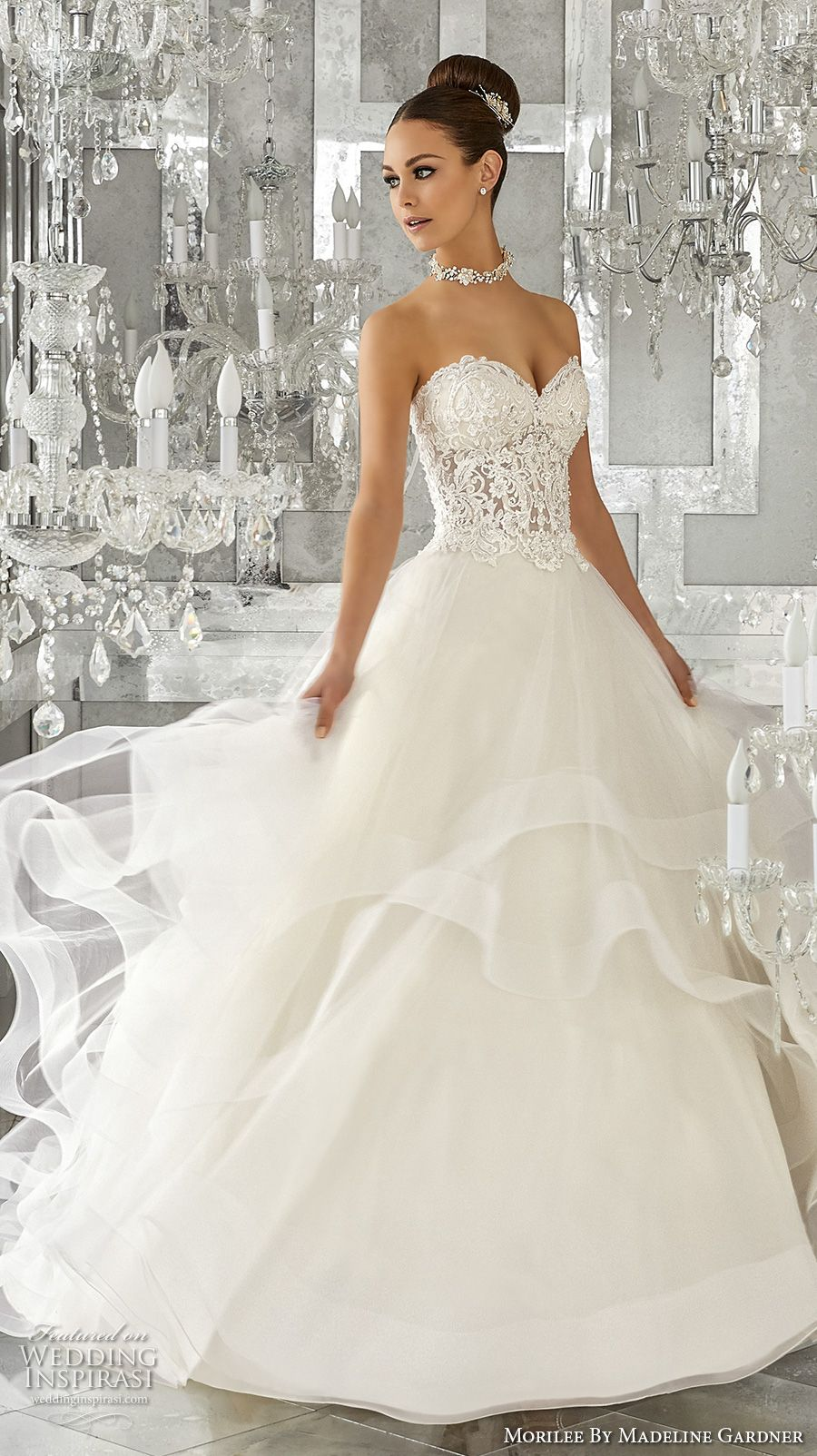 Morilee by Madeline Gardner Fall 2017 Blu Bridal Collection ...