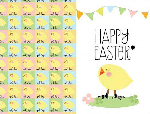 Easter Greeting Cards Free, Unique Ideas to Make Easter - easter greeting card template