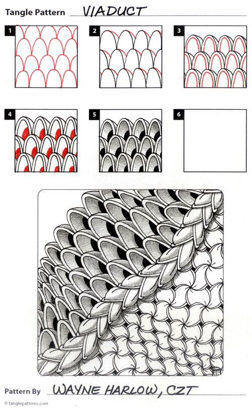 zentangle muster - Zentangle Muster