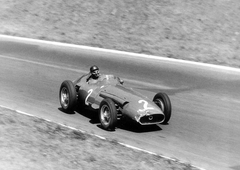 1958 GP de Francia – juan manuel fangio (maserati), stirling moss