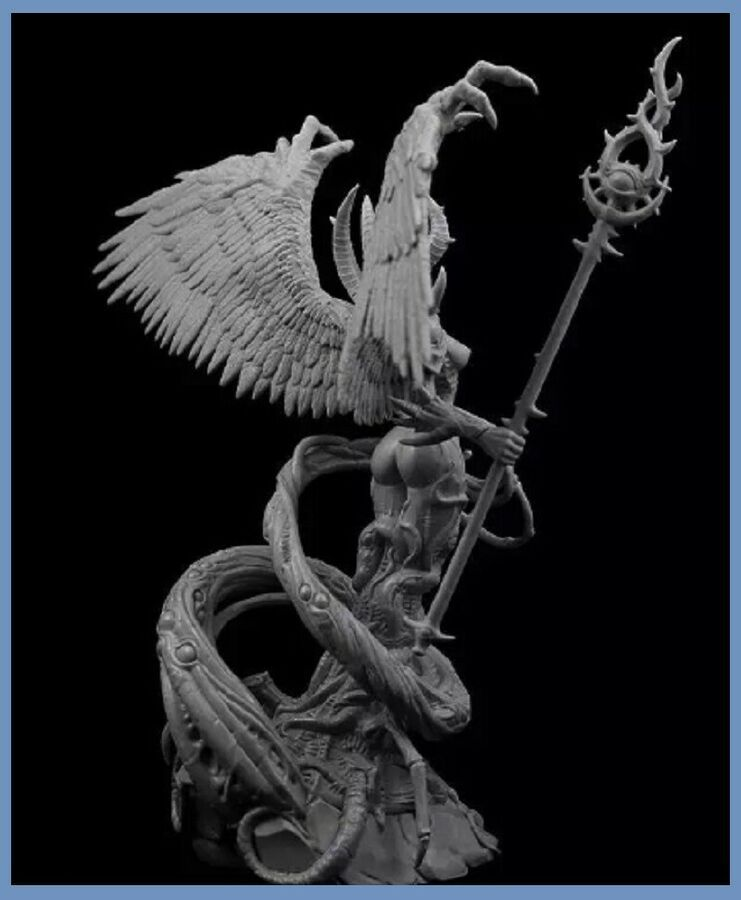 15cm Resin Figure Model Kit Lady of Arcana Unassambled Unpainted