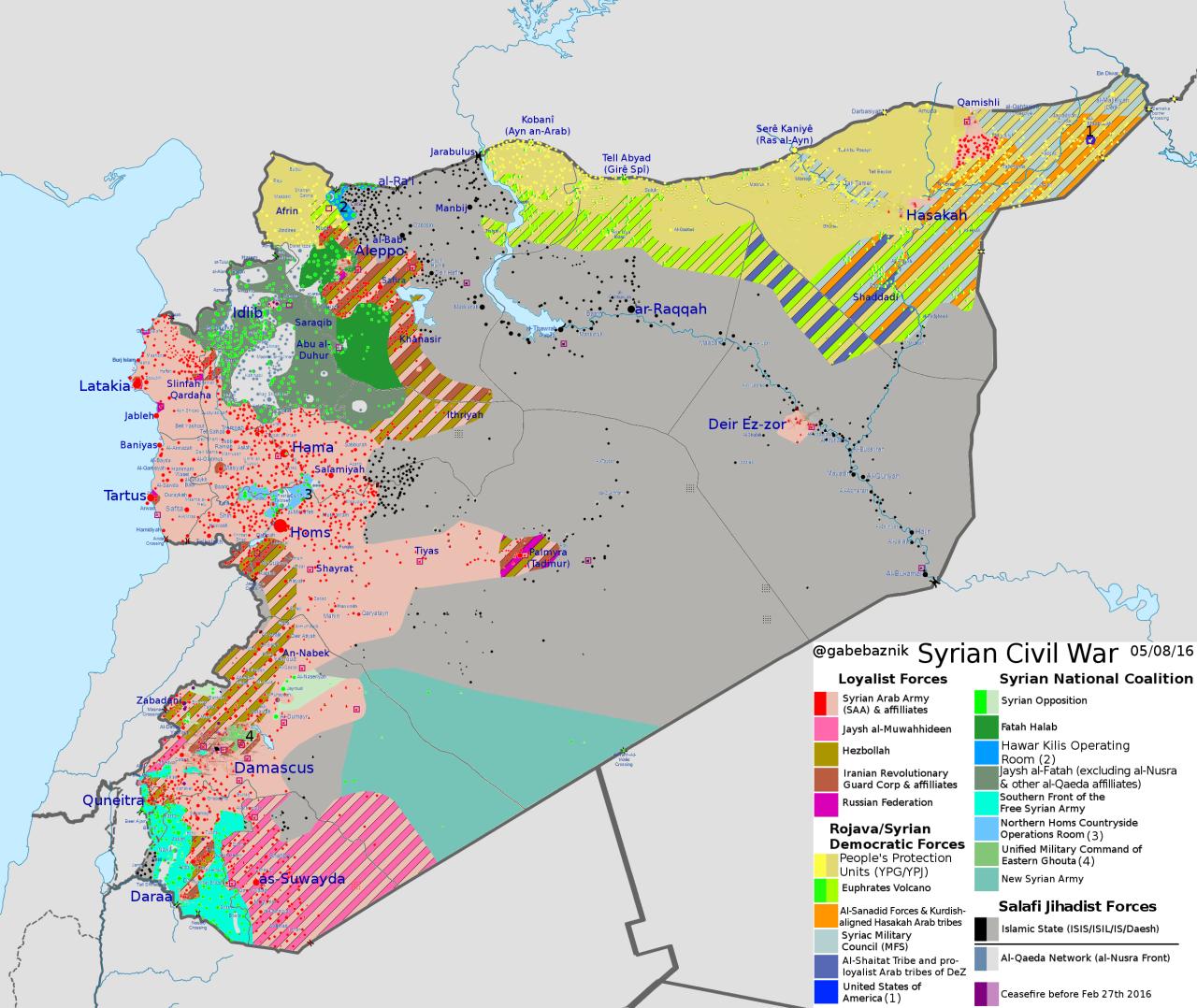 Maps 2016.Syrian Civil War May 8 2016 Maps Map Syria Syrian Civil War