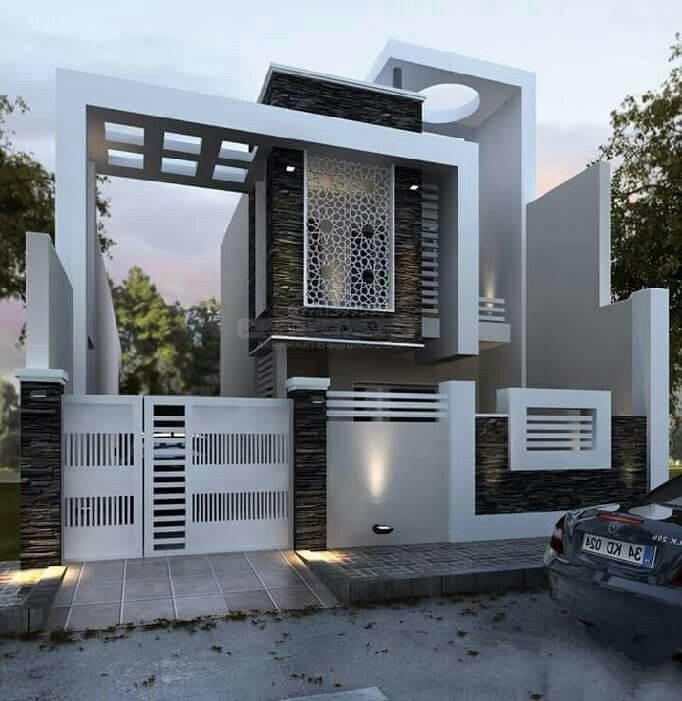 Pin By Azhar Masood On House Elevation Indian Compact