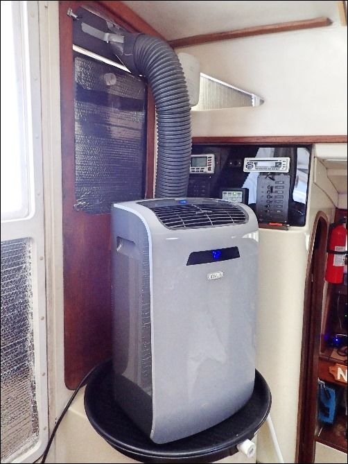 Portable Air Conditioner The Boat Galley Portable Air Conditioner Air Conditioner Maintenance Portable Air Conditioners