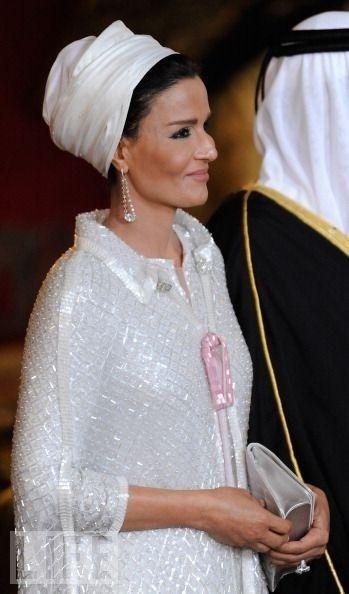 Sheikha Mozah bint Nasser Al Missned #Charismatic # ...