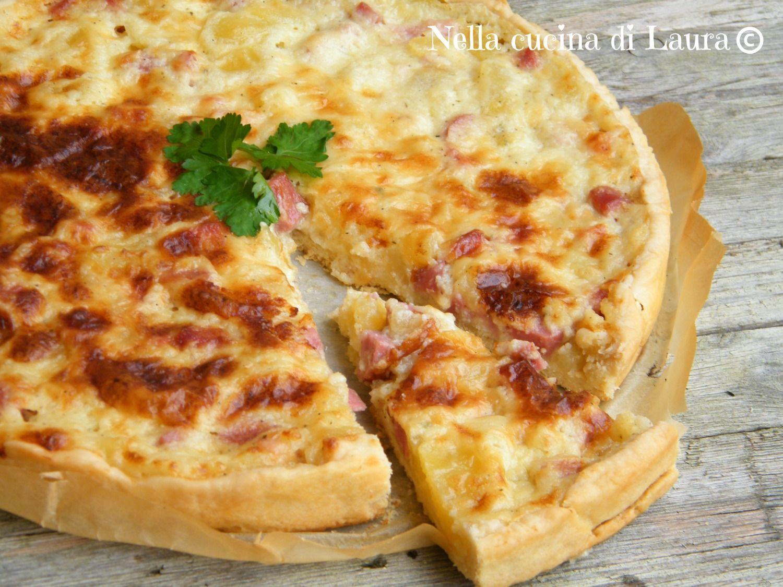 Torte salate con formaggio quark